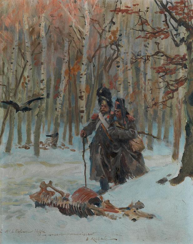 Wojciech von Kossak, 1857 – 1942, zug.