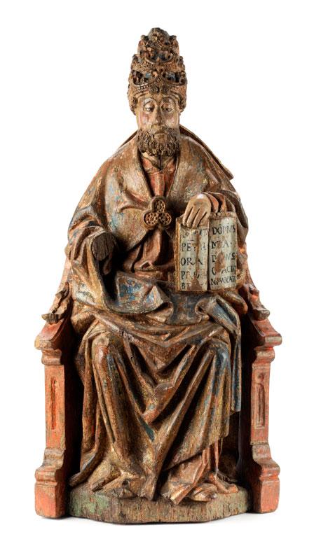 Der Heilige Petrus als Papst