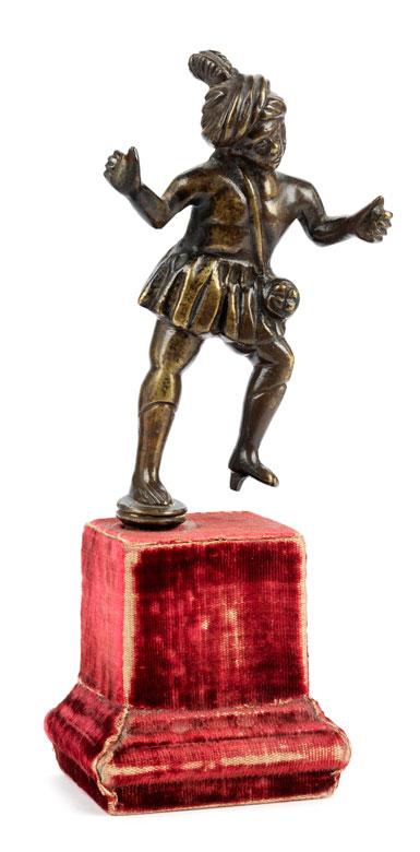 Gotischer Bronzetänzer
