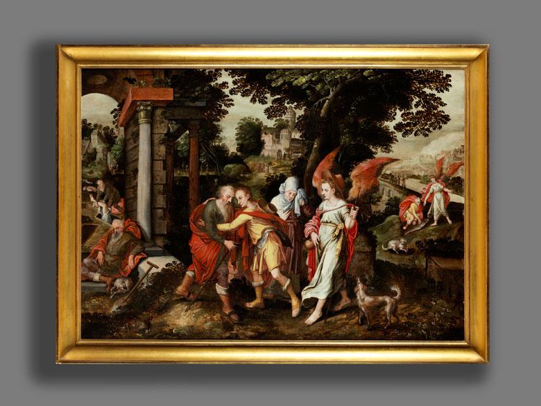 Flämischer Meister des 16./ 17. Jahrhunderts Kreis von Marten de Vos ...