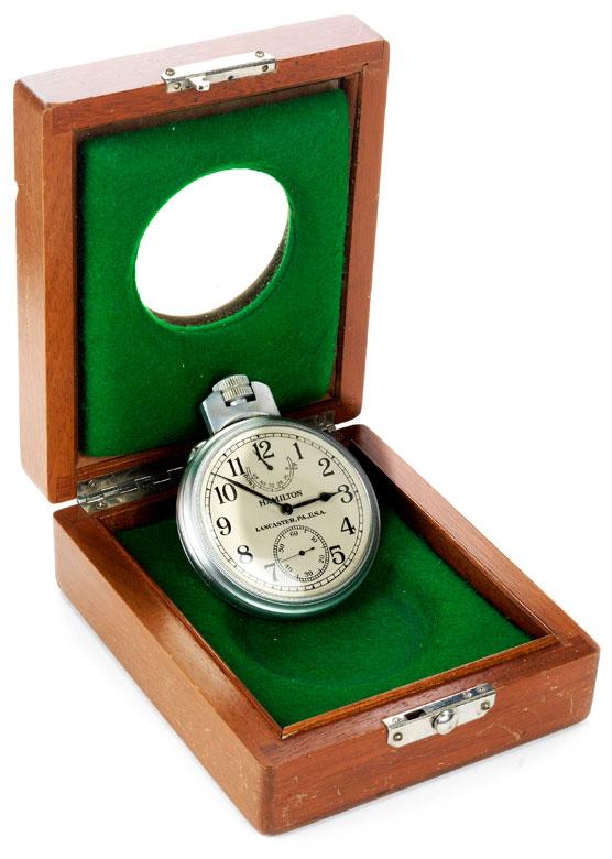 Taschenchronometer der U.S. Navy von HAMILTON/ LANCASTER PA USA