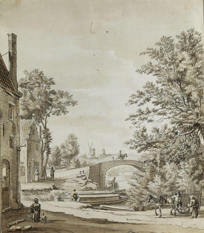 Deutsch-niederländischer Maler des 18. Jahrhunderts
