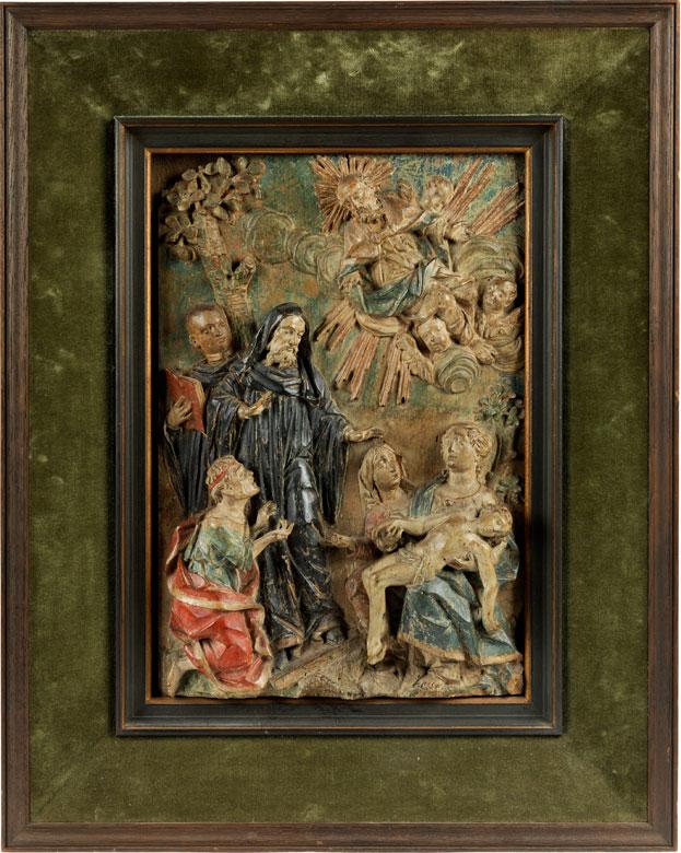 Der Heilige Domenikus erweckt einen toten Knaben zum Leben