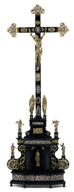 Sehr großes beeindruckendes Altarkreuz