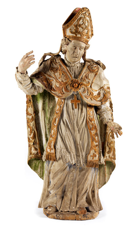 Figur eines Bischofs