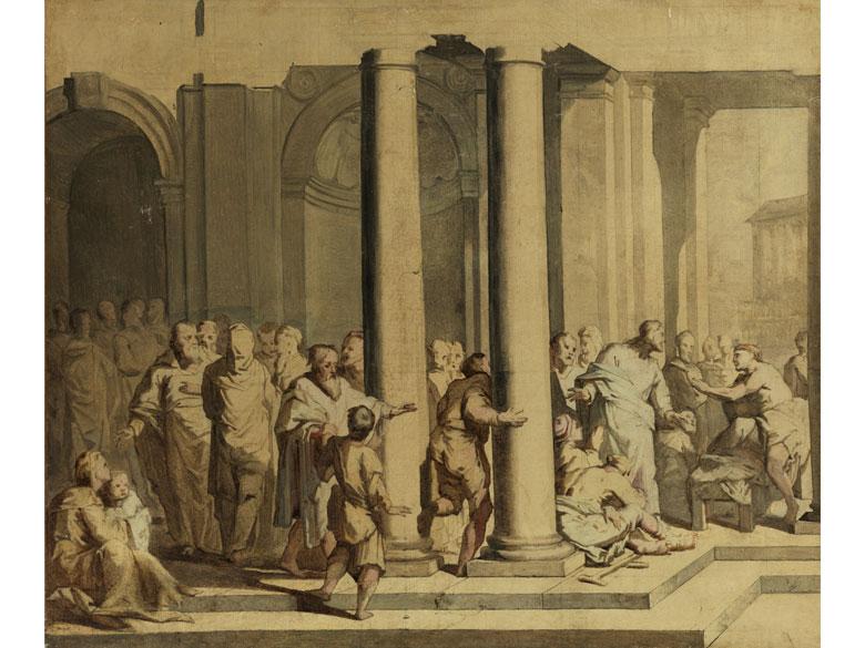 Noël Hallé, 1711 – 1781 Paris