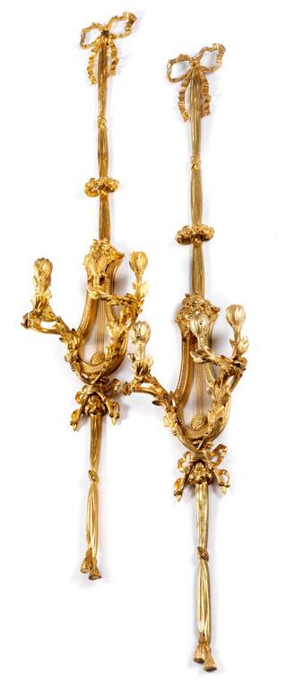 Paar Appliken im Louis XV-Stil