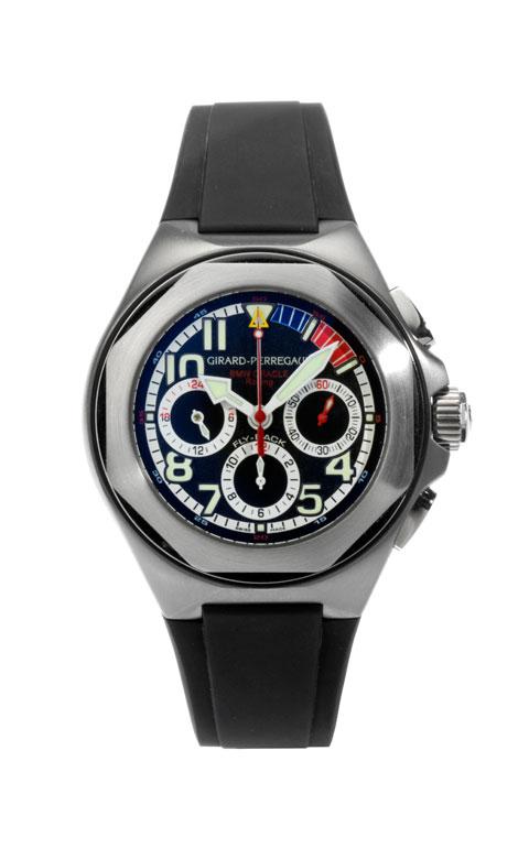 GIRARD PERREGAUX Flyback-Chronograph BMW Oracle Racing in Titan
