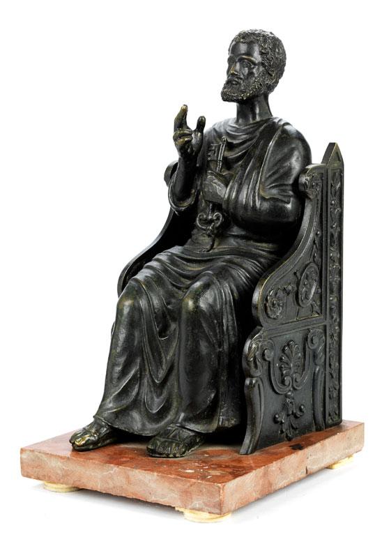 Der thronende Heilige Petrus