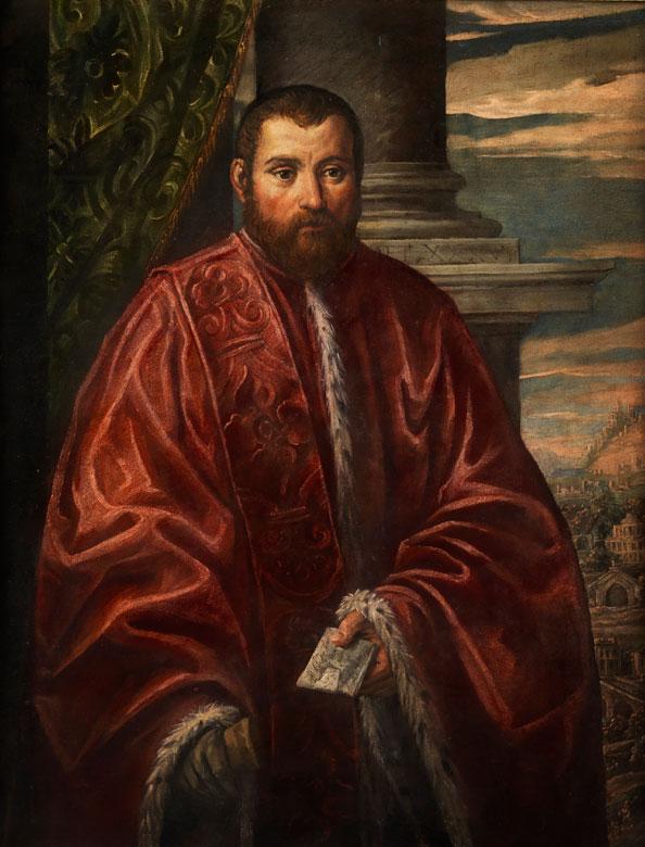 Jacopo Robusti, genannt Tintoretto , 1518 Venedig – 1594, zug.