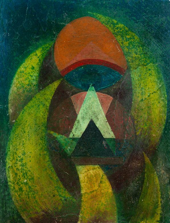 Konstruktivistischer Maler der ersten Hälfte des 20. Jahrhunderts