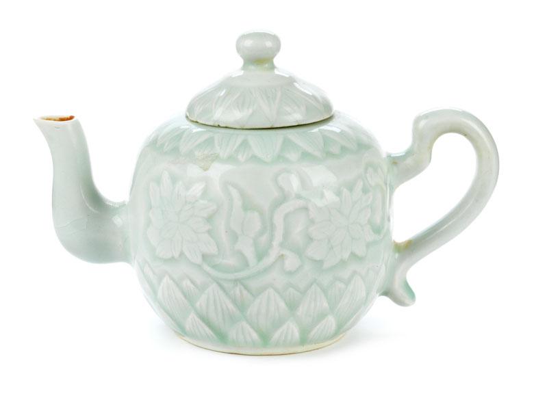 Chinesisches Claire de lune-Teekännchen