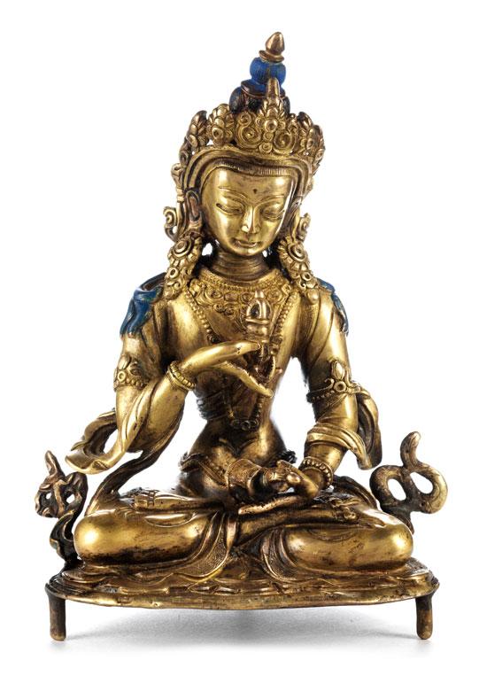 Tibetanische Bronzefigur