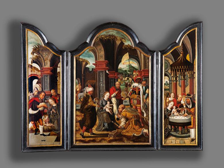 Detailabbildung: Pieter Coecke van Aelst, 1502 Aalst – 1550 Brüssel, Umkreis