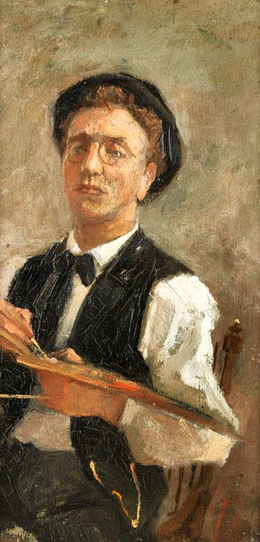 Maler der Münchner Schule aus dem Kreis Wilhelm Leibl (1844-1900), Carl Schuch (1846-1903), Wilhelm Trübner (1851-1917)