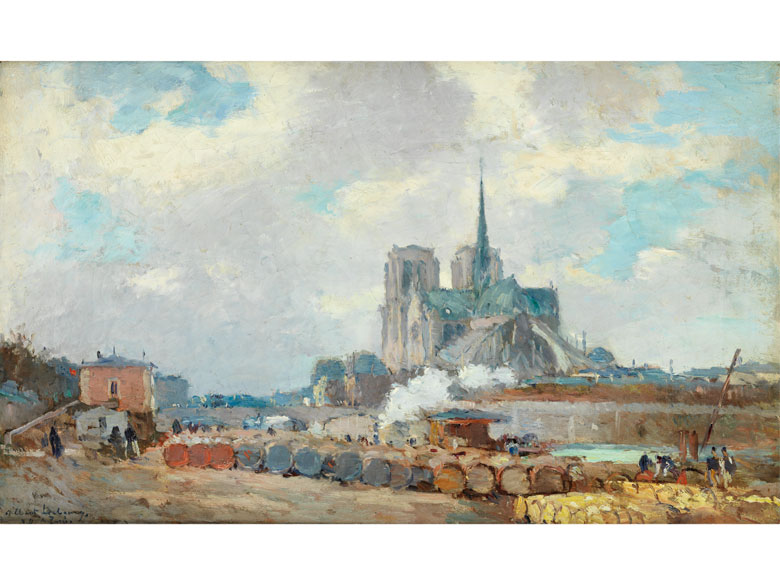 Albert Marie Lebourg, 1849 Montfort-sur-Risle – 1928 Rouen