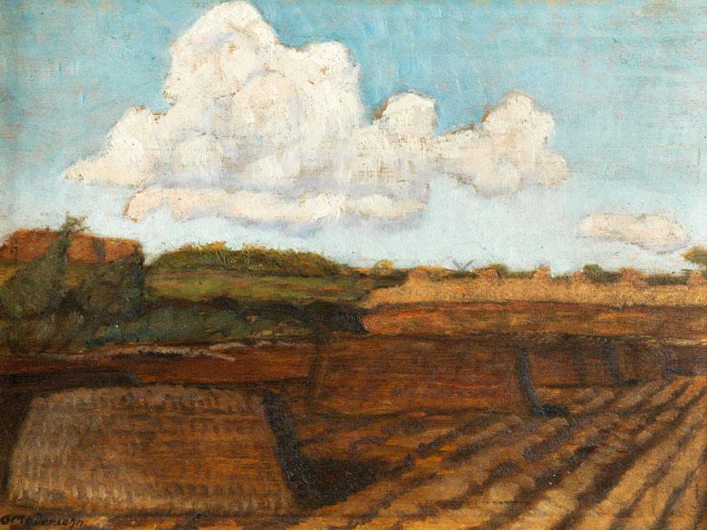 Otto Modersohn, 1865 Soest – 1943 Rotenburg