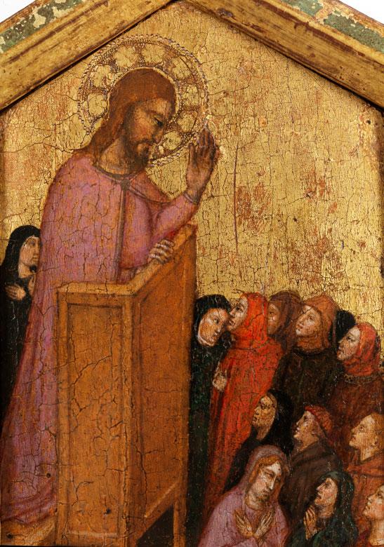 Detailabbildung: Jacopo di Cione, um 1325 Florenz – um 1398,