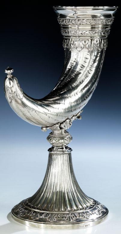 Jagdlicher Silberpokal