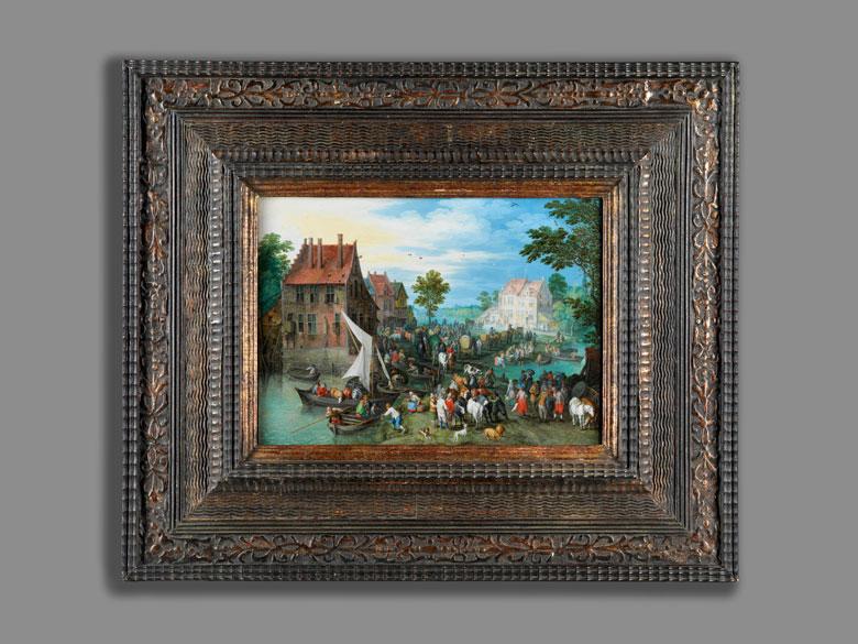 Detailabbildung: Jan Brueghel der Ältere, 1568 Brüssel – 1625 Antwerpen