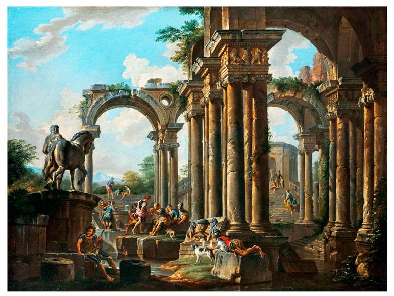 Giovanni Paolo Panini, 1691 Piacenza – 1765 Rom