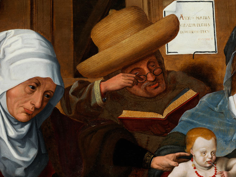 Detailabbildung: Hermann Tom Ring, 1521 Münster – 1596
