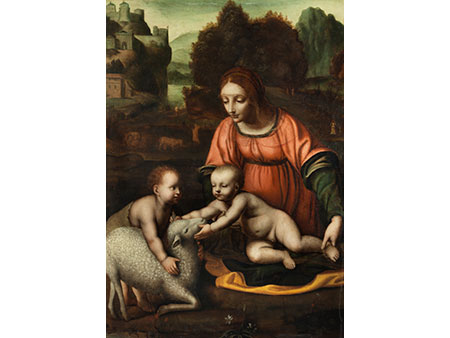 Bernardino Luini, um 1480/85 Runo – 1532 Mailand, zug.
