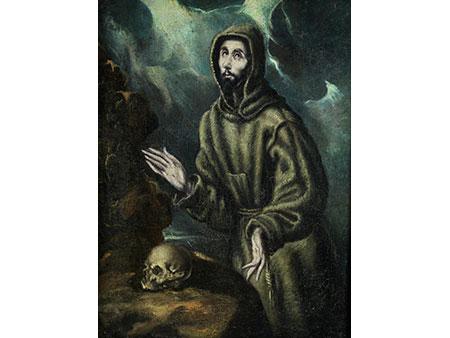 Italo-spanischer Maler in der Art des El Greco (1541-1614)