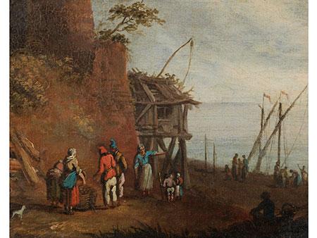 Niederländischer Maler in der Nachfolge Teniers