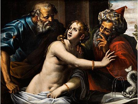 Italienischer Maler, wohl der Bologneser Schule des 17. Jahrhunderts