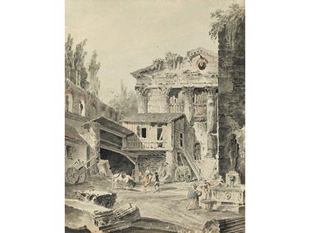 Hubert Robert, 1733 Paris – 1808 ebenda