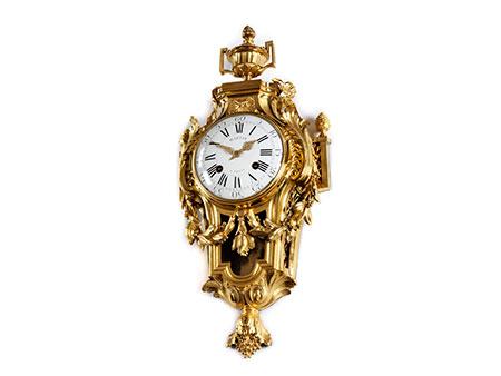 Louis XVI - Kartelluhr