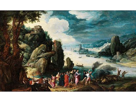 Paul Bril, um 1553/54 Breda – 1626 Rom, zug.