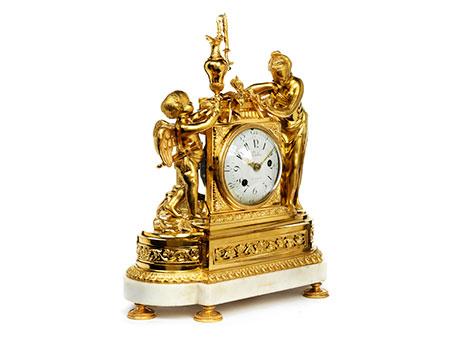 Kaminuhr im Louis XVI-Stil