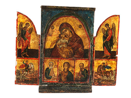 Triptychon-Ikone