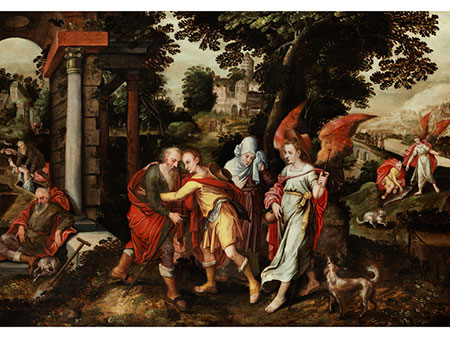 Flämischer Meister des 16./ 17. Jahrhunderts Kreis von Marten de Vos und Frans Floris