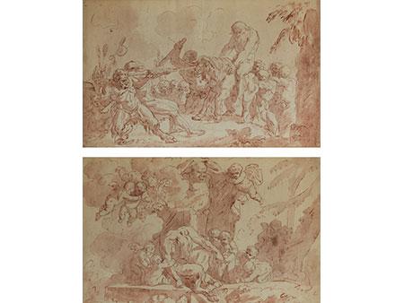 Oberitalienischer Maler/ Zeichner des 18. Jahrhunderts in venezianischem Umkreis unter Einfluss von Tiepolo