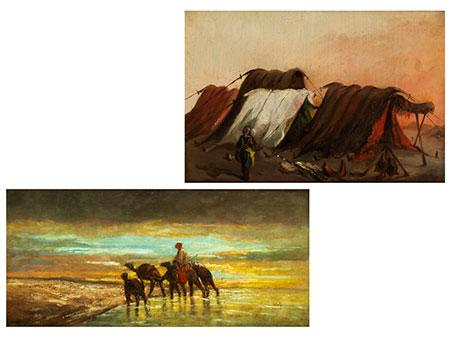 Alexandre Gabriel Decamps, 1803 Paris – 1860 Fontainebleau