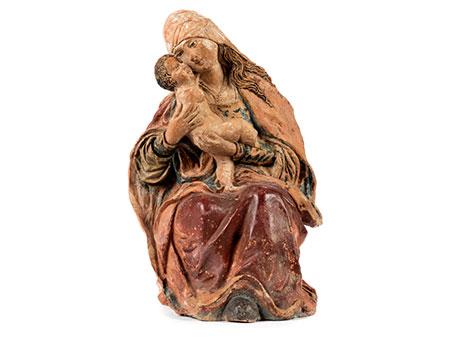 Figurengruppe Maria mit dem Kind