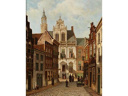 Niederländischer Maler des 19./ 20. Jahrhunderts