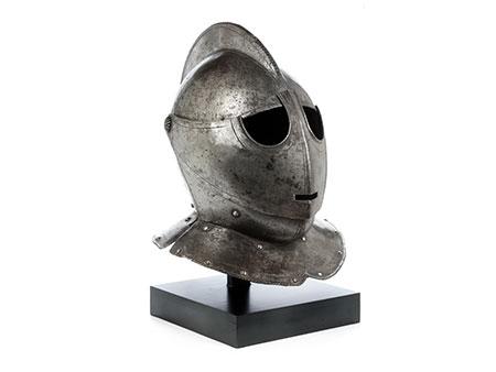 Flämischer Eisenhelm des 17. Jahrhunderts