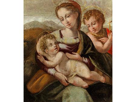 Michele Tosini, genannt Michele di Ridolfo del Ghirlandaio , 1503 Florenz – 1577, zug.