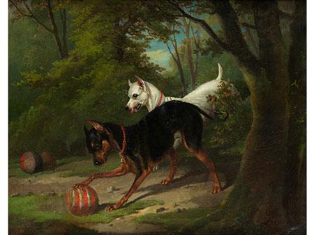 Alfred de Dreux, 1810 Paris – 1860 ebenda, zug.