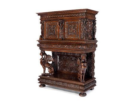 Außergewöhnliches Renaissance-Stollenkabinett