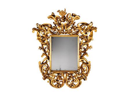 Sehr großer römischer Barock-Spiegel