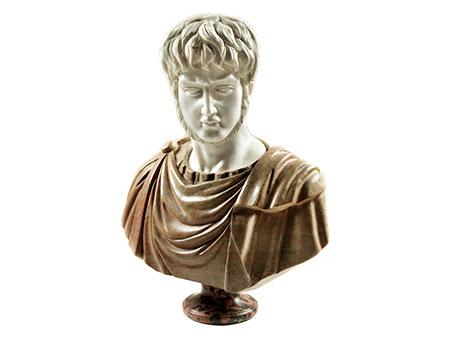 Marmorbüste des Nero