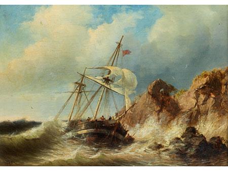Marinemaler der zweiten Hälfte des 19. Jahrhunderts