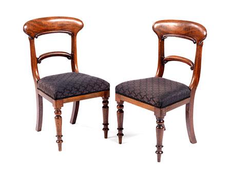 Paar Stühle des Biedermeier