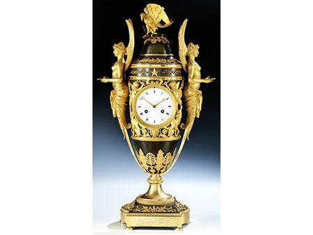 Außergewöhnliche Empire-Uhr, Claude Galle (1759-1815), zug.