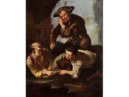 Giacomo Francesco Cipper, (genannt Il Todeschini ) 1664 Feldkirch/ Vorarlberg – 1736 Mailand, zug.
